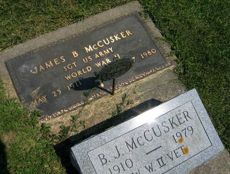 MCCUSKER, JAMES B - Delaware County, Iowa | JAMES B MCCUSKER
