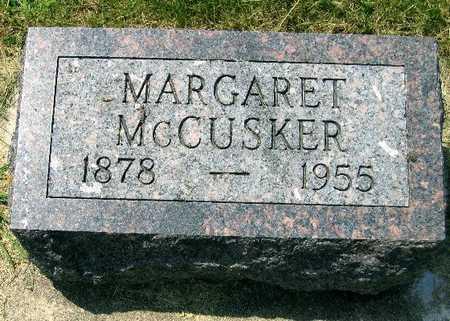 MCCUSKER, MARGARET - Delaware County, Iowa | MARGARET MCCUSKER