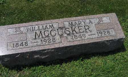 MCCUSKER, WILLIAM - Delaware County, Iowa | WILLIAM MCCUSKER