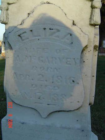 MCGARVEY, ELIZA - Delaware County, Iowa | ELIZA MCGARVEY