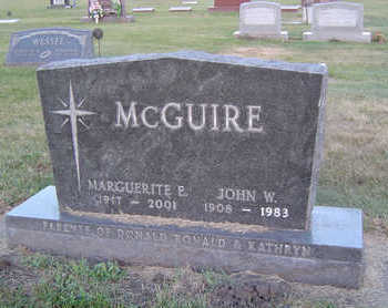 MCGUIRE, JOHN W. - Delaware County, Iowa | JOHN W. MCGUIRE