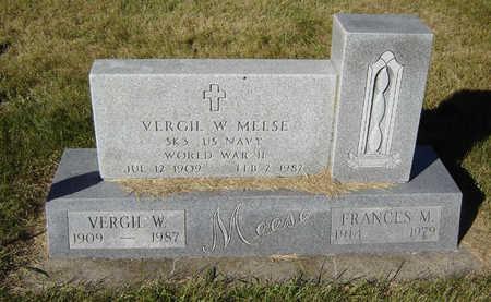 MEESE, VERGIL W. - Delaware County, Iowa | VERGIL W. MEESE