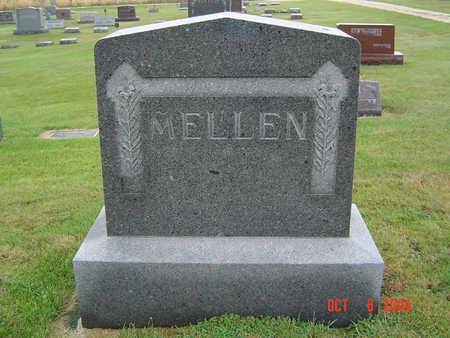 PLATT MELLEN, ETHEL BASSETT - Delaware County, Iowa | ETHEL BASSETT PLATT MELLEN