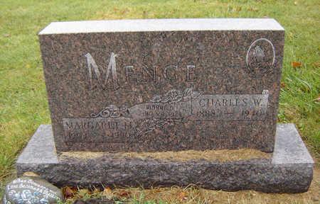 MONNAHAN MENGE, MARGARET MARY - Delaware County, Iowa | MARGARET MARY MONNAHAN MENGE