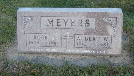MEYERS, ROSE I. - Delaware County, Iowa | ROSE I. MEYERS