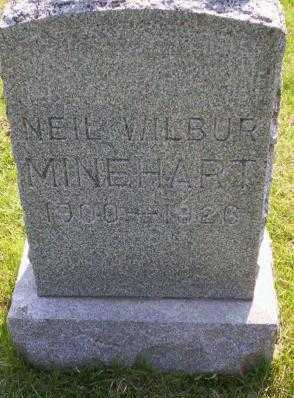 MINEHART, NEIL WILBUR - Delaware County, Iowa | NEIL WILBUR MINEHART