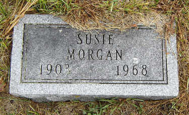 HOOK MORGAN, SUSIE - Delaware County, Iowa | SUSIE HOOK MORGAN