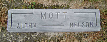 MOTT, NELSON - Delaware County, Iowa | NELSON MOTT