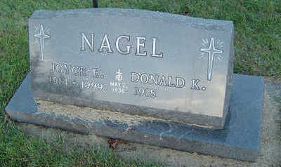 NAGEL, DONALD K. - Delaware County, Iowa | DONALD K. NAGEL
