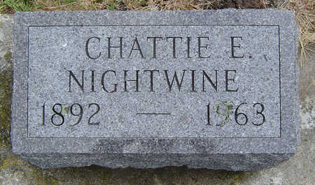 NIGHTWINE, CHATTIE EUNICE - Delaware County, Iowa | CHATTIE EUNICE NIGHTWINE
