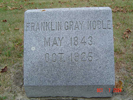 NOBLE, FRANKLIN GRAY - Delaware County, Iowa | FRANKLIN GRAY NOBLE