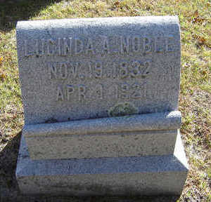 HASKELL NOBLE, LUCINDA A. - Delaware County, Iowa | LUCINDA A. HASKELL NOBLE