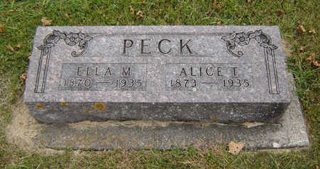 PECK, ALICE T. - Delaware County, Iowa | ALICE T. PECK