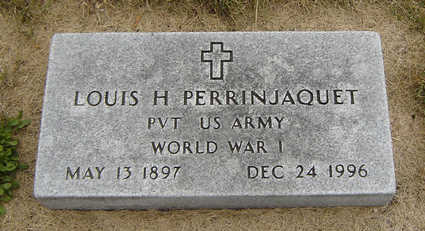 PERRINJAQUET, LOUIS H. - Delaware County, Iowa | LOUIS H. PERRINJAQUET