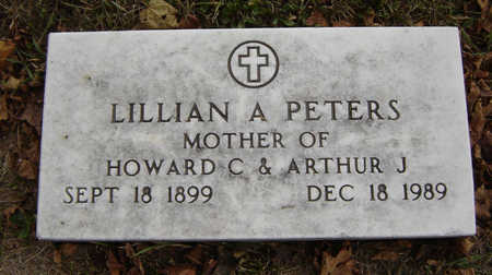 PETERS, LILLIAN - Delaware County, Iowa | LILLIAN PETERS