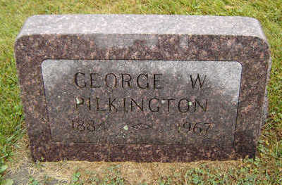 PILKINGTON, GEORGE W. - Delaware County, Iowa | GEORGE W. PILKINGTON