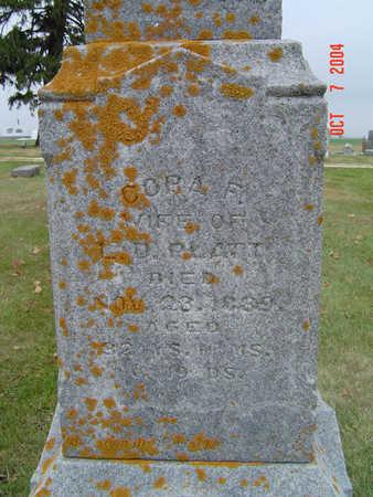 GRATOR PLATT, CORA F. - Delaware County, Iowa | CORA F. GRATOR PLATT