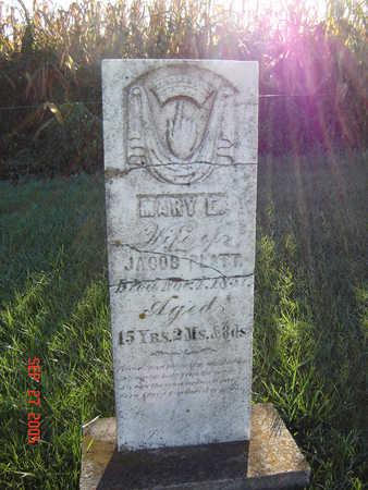 PLATT, MARY E. - Delaware County, Iowa | MARY E. PLATT