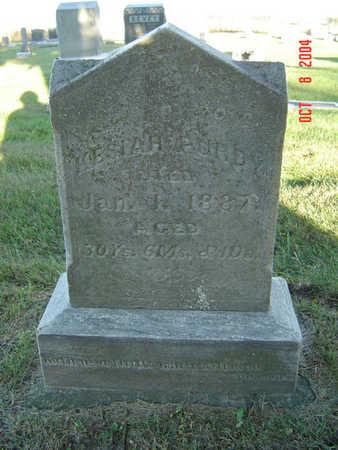 BURGIN PURDY, KESIAH - Delaware County, Iowa | KESIAH BURGIN PURDY
