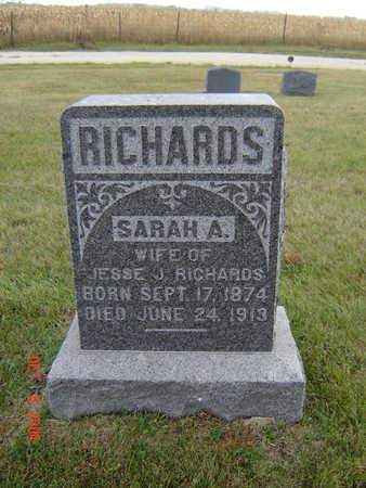 KNICKERBOCKER RICHARDS, SARAH A. - Delaware County, Iowa | SARAH A. KNICKERBOCKER RICHARDS