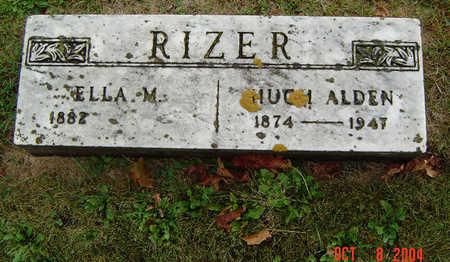 ASHLINE RIZER, ELLA M. - Delaware County, Iowa | ELLA M. ASHLINE RIZER