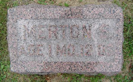 ROBINSON, MERTON S. - Delaware County, Iowa | MERTON S. ROBINSON