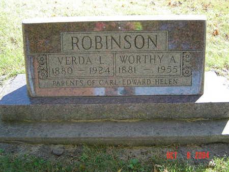 ROBINSON, WORTHY A. - Delaware County, Iowa | WORTHY A. ROBINSON