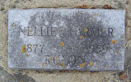 FARMER RULON, NELLIE I. - Delaware County, Iowa | NELLIE I. FARMER RULON
