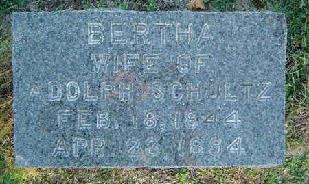 KUHLMAN SCHULTZ, BERTHA - Delaware County, Iowa | BERTHA KUHLMAN SCHULTZ