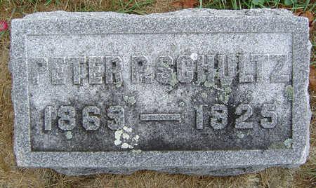 SCHULTZ, PETER P. - Delaware County, Iowa | PETER P. SCHULTZ