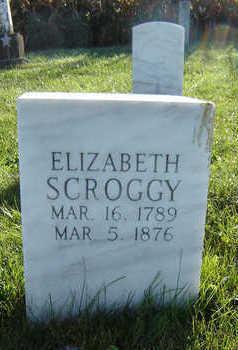 SCROGGY, ELIZABETH - Delaware County, Iowa | ELIZABETH SCROGGY
