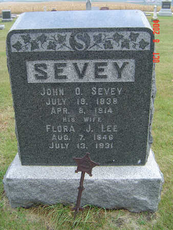 SEVEY, FLORA J. - Delaware County, Iowa | FLORA J. SEVEY