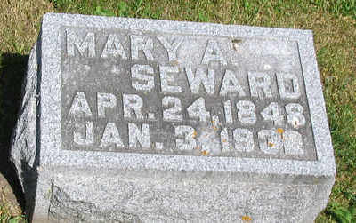 SEWARD, MARY ADELAIDE - Delaware County, Iowa | MARY ADELAIDE SEWARD