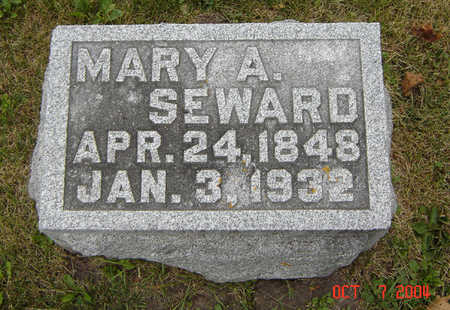 SEWARD, MARY A. - Delaware County, Iowa | MARY A. SEWARD