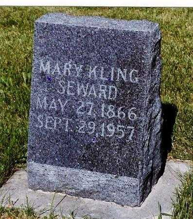 SEWARD, MARY MARIA - Delaware County, Iowa | MARY MARIA SEWARD