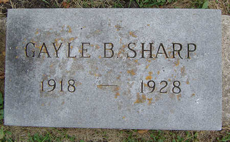 SHARP, GAYLE B. - Delaware County, Iowa | GAYLE B. SHARP