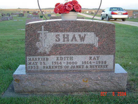SHAW, EDITH - Delaware County, Iowa | EDITH SHAW