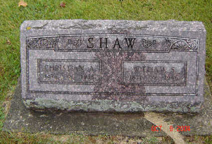 SHAW, WILLIAM S. - Delaware County, Iowa | WILLIAM S. SHAW