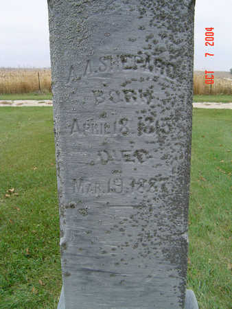 SHEPARD, A. A. - Delaware County, Iowa | A. A. SHEPARD