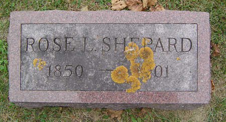 WEDGE SHEPARD, ROSE. L. - Delaware County, Iowa | ROSE. L. WEDGE SHEPARD