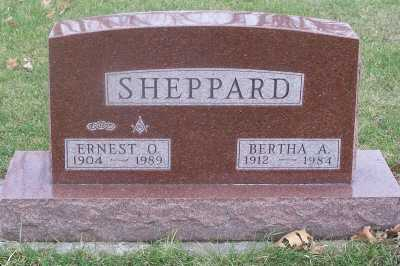 SHEPPARD, BERTHA ALICE - Delaware County, Iowa | BERTHA ALICE SHEPPARD