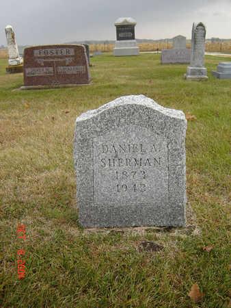 SHERMAN, DANIEL A. - Delaware County, Iowa | DANIEL A. SHERMAN