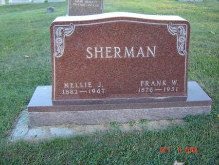 SHERMAN, FRANK W. - Delaware County, Iowa | FRANK W. SHERMAN
