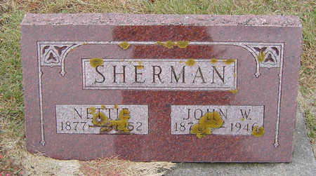 FREEMAN SHERMAN, NETTIE - Delaware County, Iowa | NETTIE FREEMAN SHERMAN