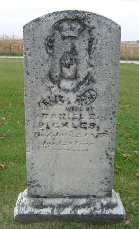 SICKLES, ELIZA ANN - Delaware County, Iowa | ELIZA ANN SICKLES