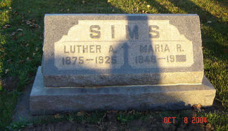 SIMS, LUTHER A. - Delaware County, Iowa | LUTHER A. SIMS