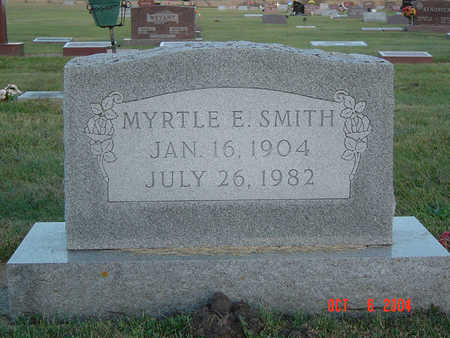 SMITH, MYRTLE ETHEL - Delaware County, Iowa | MYRTLE ETHEL SMITH