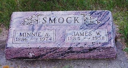 SMOCK, MINNIE A. - Delaware County, Iowa | MINNIE A. SMOCK