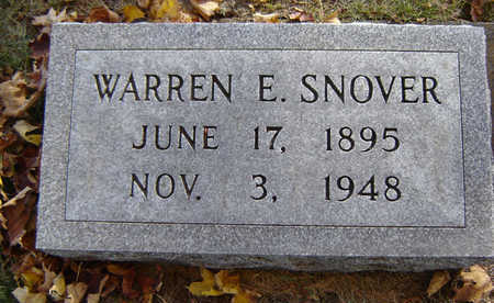 SNOVER, WARREN E. - Delaware County, Iowa | WARREN E. SNOVER