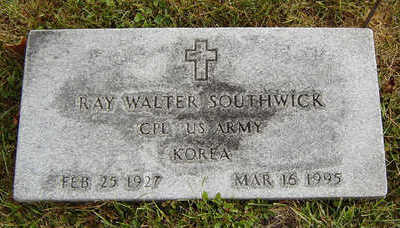 SOUTHWICK, RAY WALTER - Delaware County, Iowa | RAY WALTER SOUTHWICK